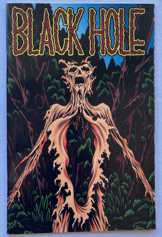 Black Hole 1—Front Cover