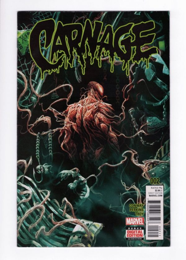 Carnage (2015) 2—Front Cover