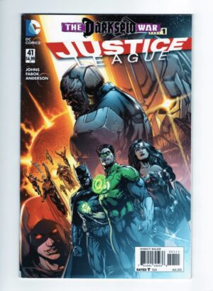 Justice League 41—Front Cover
