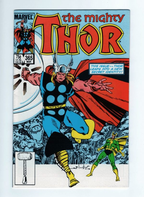 Mighty Thor 365—Front Cover