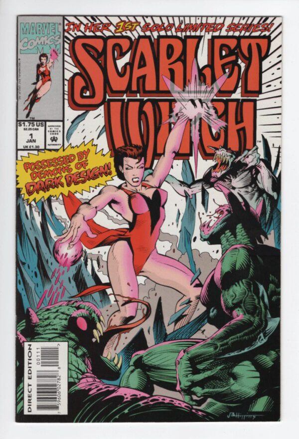 Scarlet With 1 [1994]—Front Cover