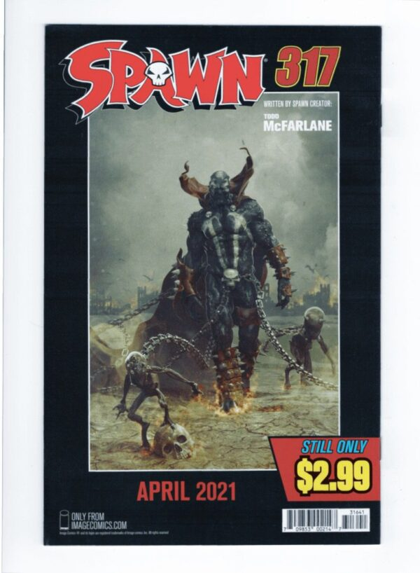 Spawn 316 (Cover D)—Front Cover