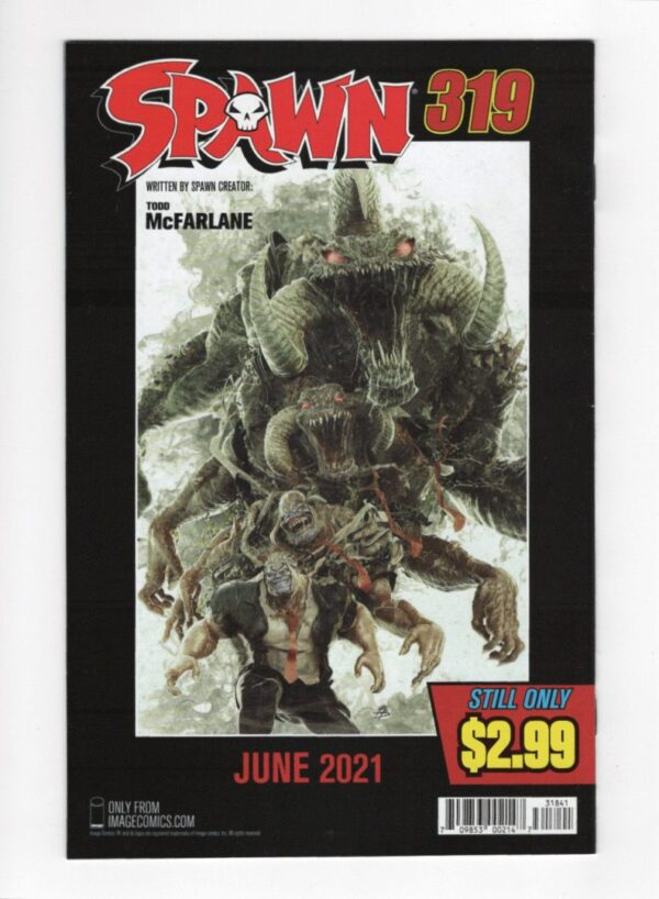 Spawn 318 (Cover D)—Back Cover