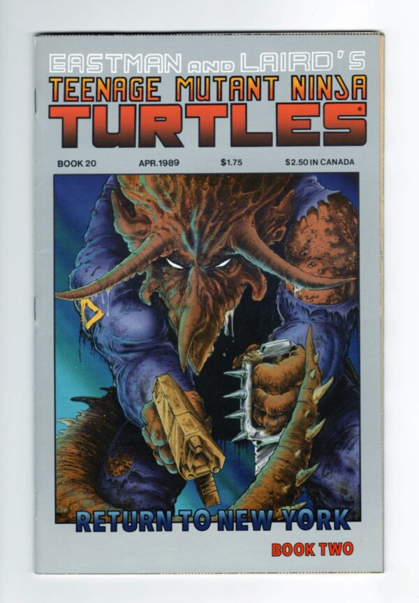 TMNT 20—Front Cover