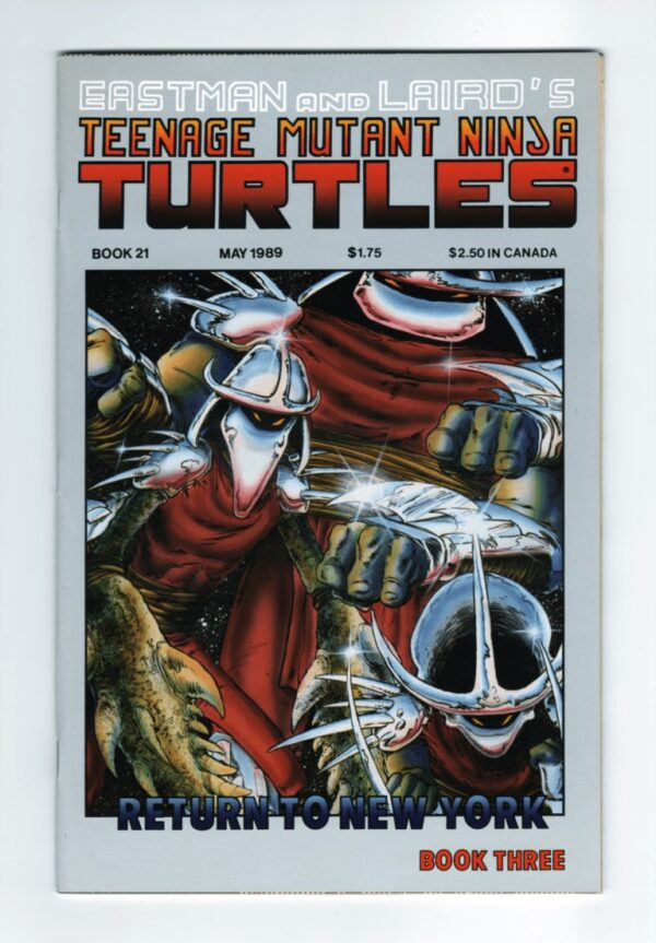 TMNT 21—Front Cover