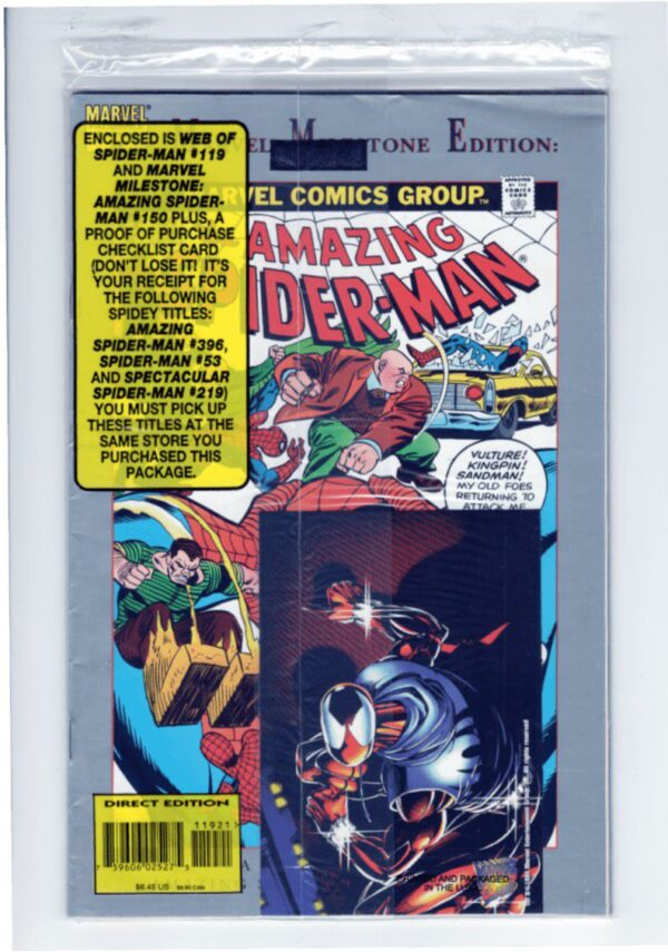 Web of Spider-Man 119—Back Cover
