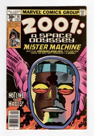 Jack Kirby 2001 A Space Odyssey 10—Front Cover | 2001 Jack Kirby
