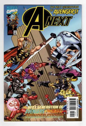 A-Next 10—Front Cover | Marvel Comics | 1st Full Appearance of Hope Pym | Key Collector Comics