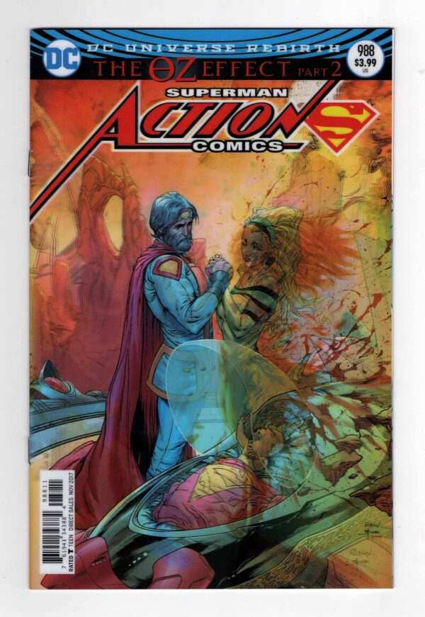 Action Comics 988—Front Cover