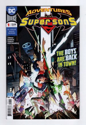 Adventures of the Super Sons 1—Front Cover