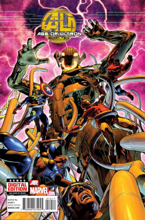 Age of Ultron 10—Front Cover