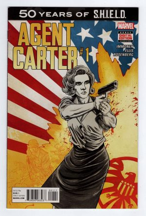 Agent Carter SHIELD 50th Anniversary—Front Cover