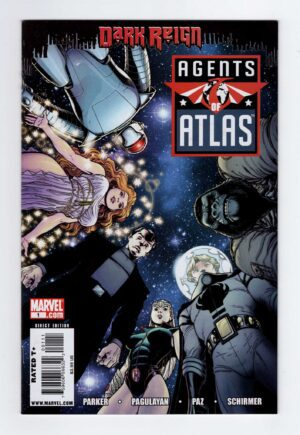 Agents of Atlas [2009] 1—Front Cover