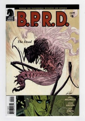BPRD 5—Front