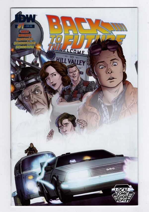 Back to the Future 1—Front Cover