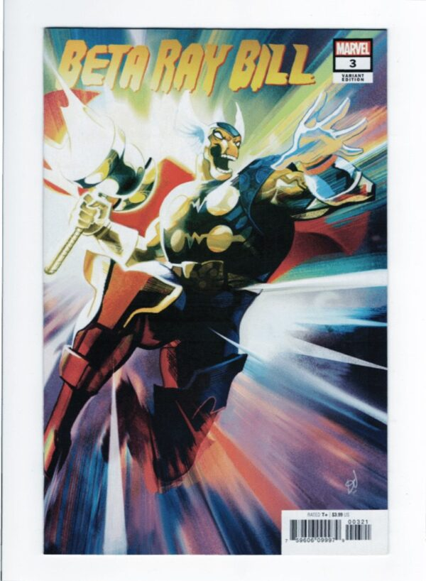 Beta Ray Bill 1—Front Cover