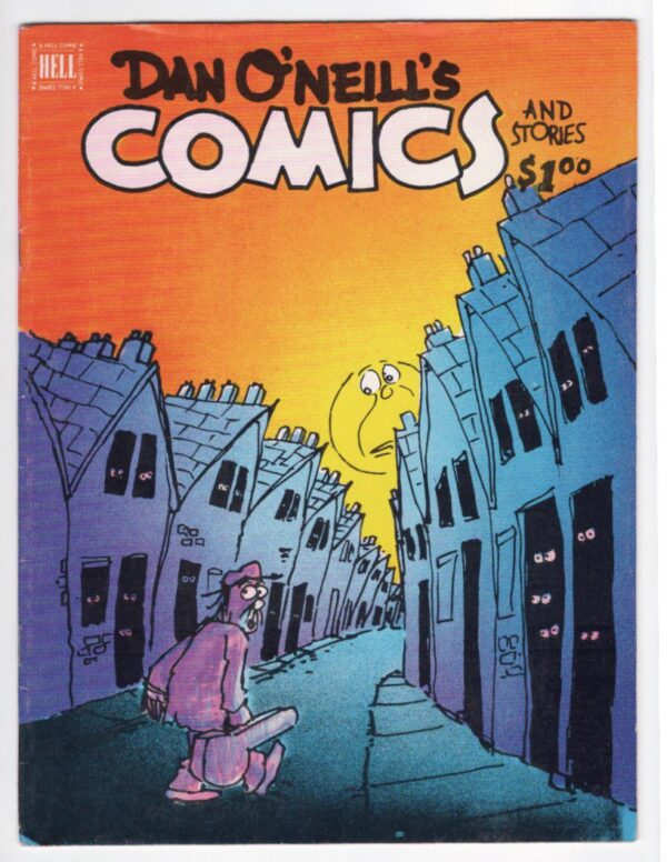 Dan O'Neill's Comics and Stories 1—Front Cover