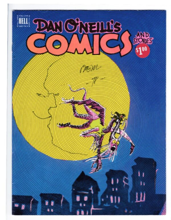 Dan O'Neill's Comics and Stories 2—Front Cover