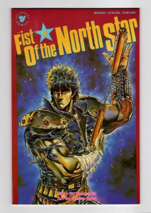 Fist of the North Star 8—Front Cover