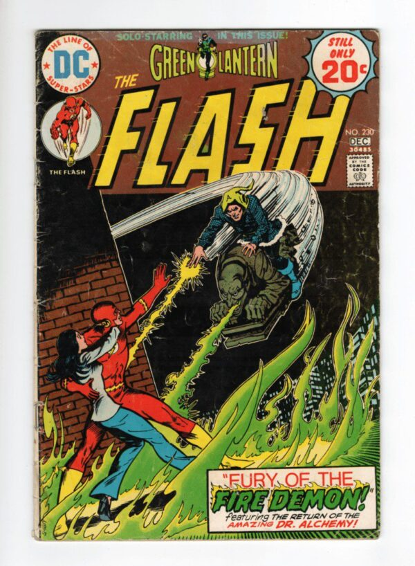 The Flash 230—Front Cover