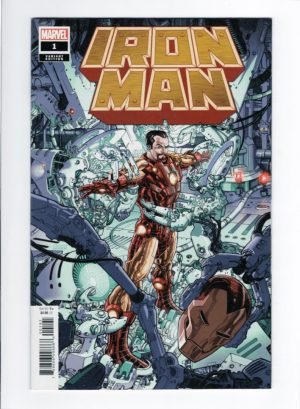 Iron Man 1 (Dustin Weaver Variant)—Front Cover