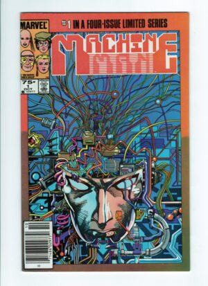 Machine Man 1—Front Cover