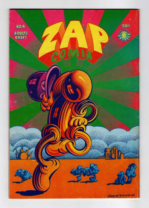 Zap Comix 4 (3rd Printing)—Back Cover