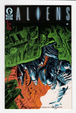 Aliens (1989) 3—Front Cover