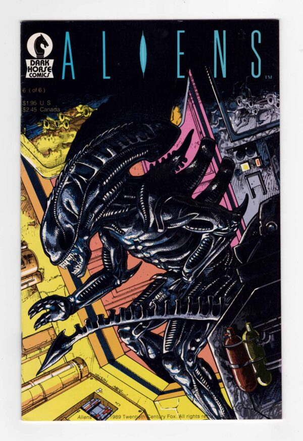 Aliens (1989) 6—Front Cover