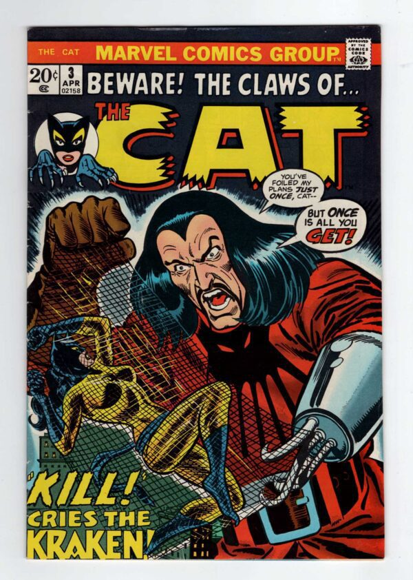The Cat 3—Front Cover