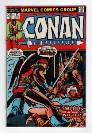 Conan the Barbarian 23—Front Cover | 1st appearance of Red Sonja