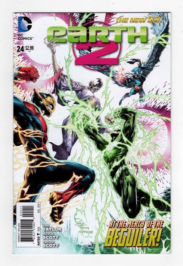 Earth-2 24—Front Cover