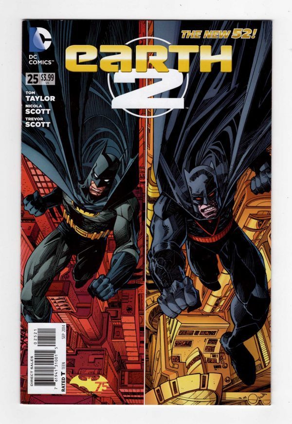 Earth-2 25—Front Cover