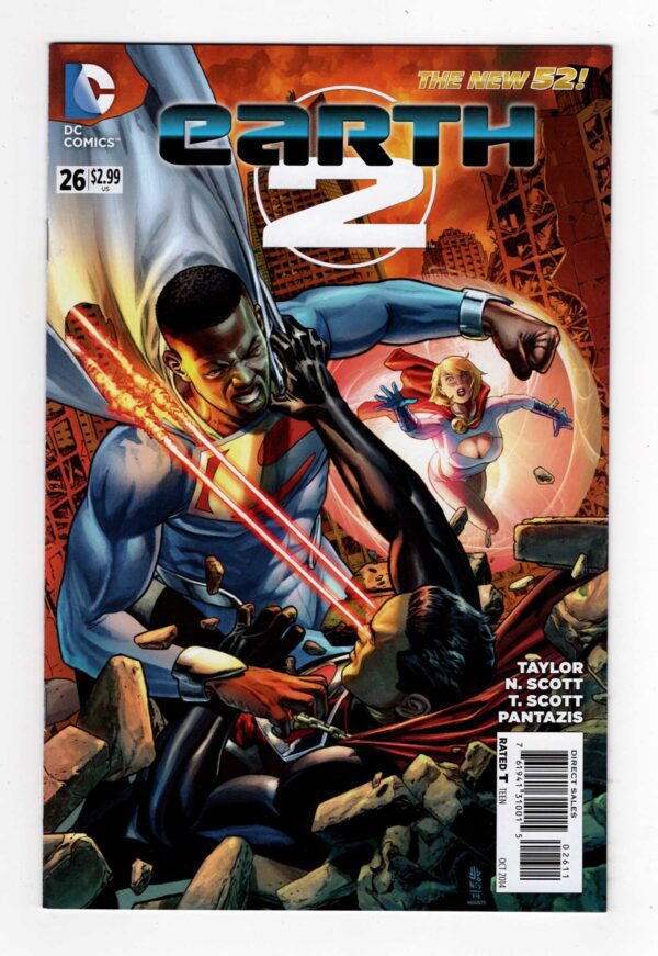 Earth-2 26—Front Cover