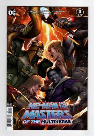 He-Man and the Masters of the Multiverse 3—Front Cover
