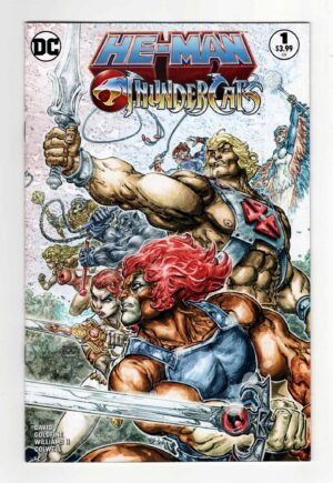 He-Man/Thundercats 1 (2nd Printing)—Front Cover