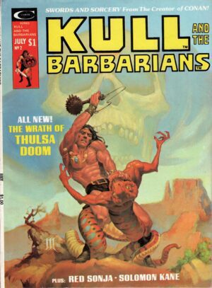 Kull and the Barbarians 2—Front Cover