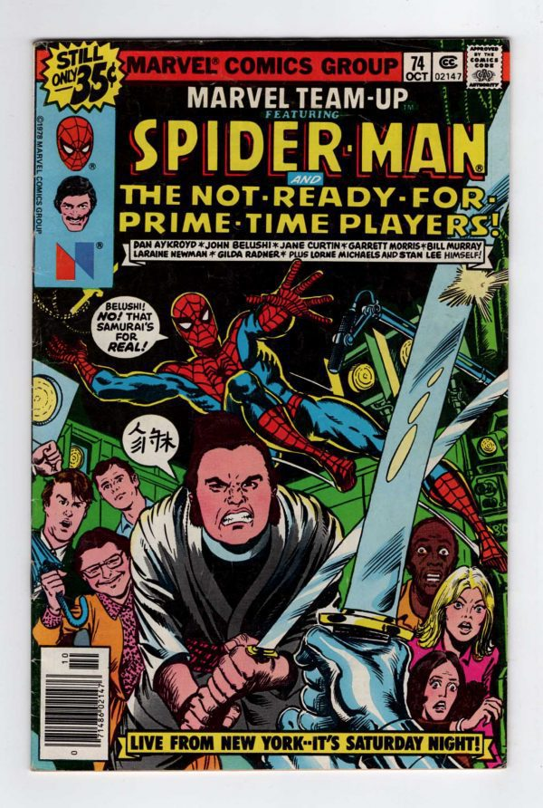 Marvel Team-Up 74—Front Cover
