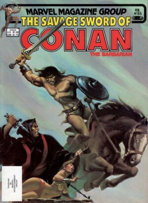 The Savage Sword of Conan 85—Front Cover