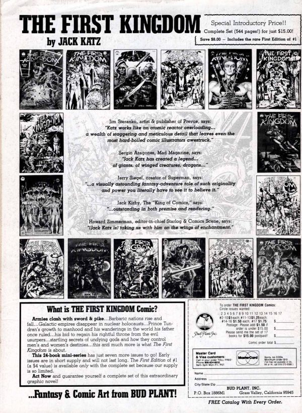 The Savage Sword of Conan 90—Back Cover