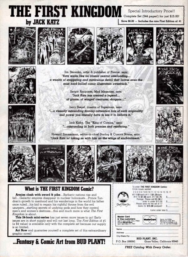 The Savage Sword of Conan 91—Back Cover