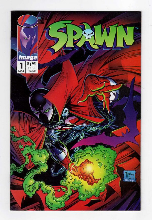 Spawn 1—Front Cover
