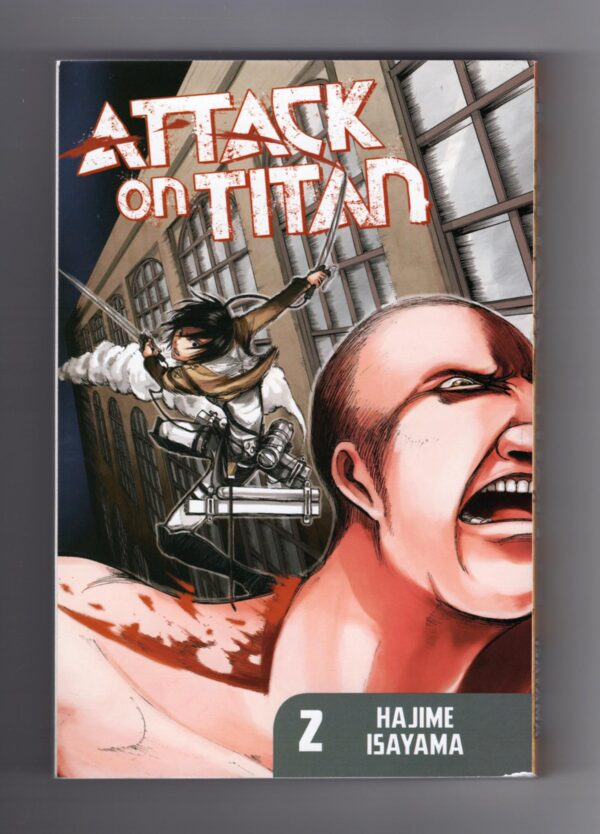 Attack on Titan Volume 2—Front Cover