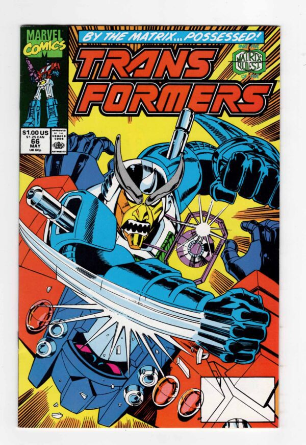 Transformers 66—Front Cover