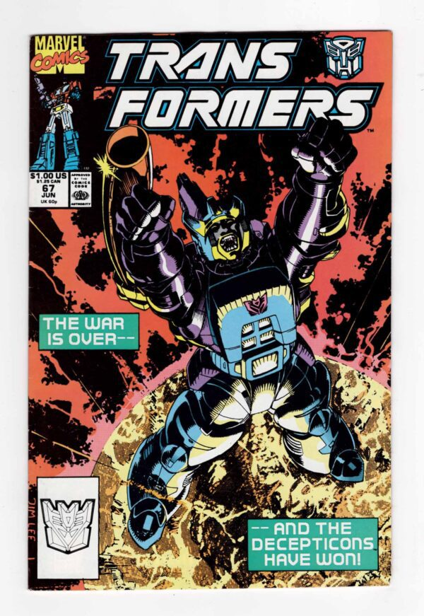 Transformers 67—Front Cover