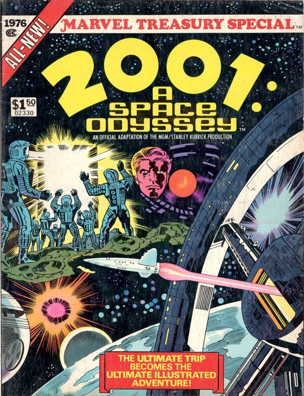 Jack Kirby 2001 A Space Odyssey Treasury—Front Cover | 2001 Jack Kirby