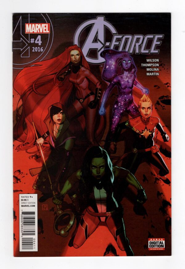 A-Force 4—Front Cover