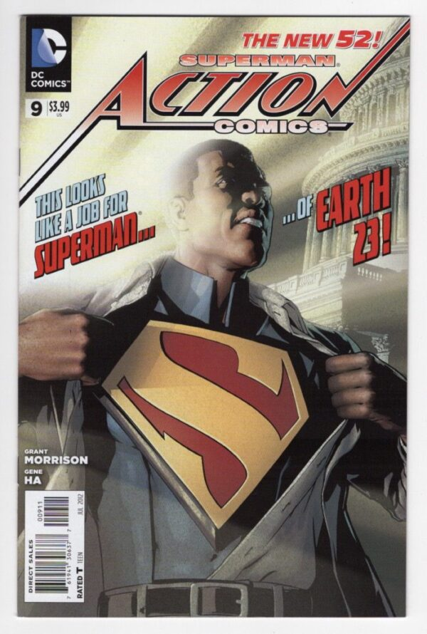 Action Comics 9—Front Cover