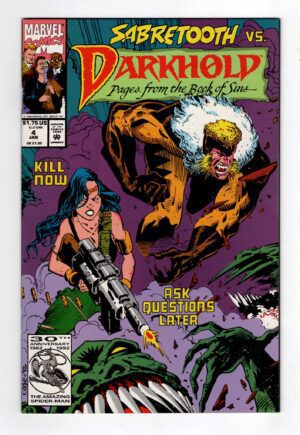 Darkhold 4—Front Cover