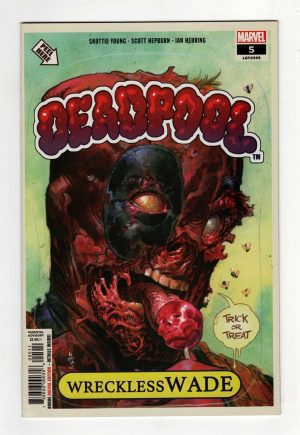 Deadpool 5—Front Cover